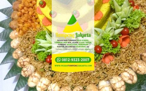 Pesan Tumpeng di Ciracas, Pesan Nasi Tumpeng Jakarta, Tumpeng Sedang, Nasi Kuning